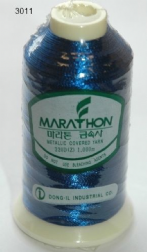 Marathon Rayon Embroidery Machine Thread Metallic - 3011